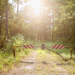 Royalty-Free Stock Photo: Do not enter closed way to paradise