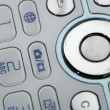 Stock Photo: Mobile phone macro keyboard detail