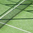 Paddle tennis green grass camp field texture — Stock Photo #5504503