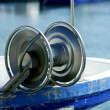 Fishing winch for professional fisherman boats — Stock Photo #5504969