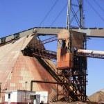 Excavation metal outdoor mine Riotinto — Stock Photo