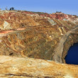 Excavation metal outdoor mine Riotinto — Stock Photo #5505096