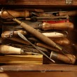 Srtist hand tools for handcraft works — Lizenzfreies Foto