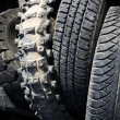 Pneumatics tyres recycle ecology industry — Stock Photo #5505202