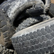 Pneumatics tyres recycle ecology industry — Stock Photo #5505203