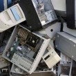 Hardware computer desktop recycle industry - Foto de Stock  