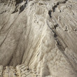 Stock Photo: White sand quarry mound mountain