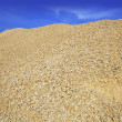 Stock Photo: Concrete yellow gravel sand quarry mountain