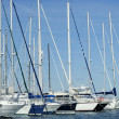 Marina in Denia, Alicante, Spain - Stock Photo
