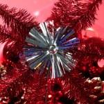 Christmas star, xtmas, red, celebration — Stock Photo