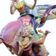 Royalty-Free Stock Photo: Fallas from Valencia, Spain celebration cartoon figures