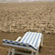 Beach hammock sand vacation metaphor — Foto Stock