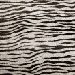 Imitation zebra leather texture background - Stock Photo