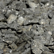 Dark gray stones rough texture — Stock Photo