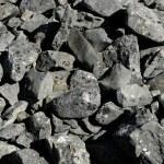 Dark gray stones rough texture — Stock Photo #5507967