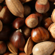Royalty-Free Stock Photo: Nuts mix, walnuts, pecam hazelnut, almond, chestnut