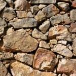 Masonry in Spain, old stone walls — Stock Photo #5508237