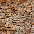 Masonry in Spain, old stone walls — Stock Photo