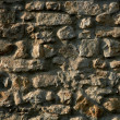 Stock Photo: Masonry in Spain, old stone walls
