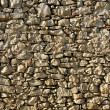 Masonry in Spain, old stone walls - Stock Photo
