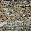 Antique grunge old gray stone wall masonry — Stock Photo #5508354