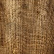 Burlap sack vegetal brown texture background - Stock Photo