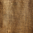 Burlap sack vegetal brown texture background - Stok fotoğraf