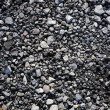 Gravel gray stone textures for asphalt mix concrete — Stock Photo