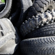 Vehicle tyres tires recycle ecology environment industry — Stock Photo #5508524