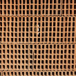 Construction bricks stacked pattern red clay — Stock Photo #5508527