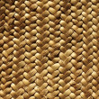 Handcraft weave texture natural vegetal fiber - Stock Photo