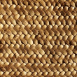 Handcraft weave texture natural vegetal fiber — Stock Photo