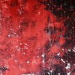 Grunge red and black aged wall texture background — Photo