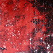 Grunge red and black aged wall texture background — Stock Photo