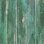 Aged weathered green wooden paint door textures — Stock Photo #5508719
