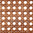 Rattan texture from thonet chair handcrafted — Stock Photo