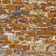 Royalty-Free Stock Photo: Colorful masonry wall stone construction