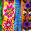 Colorful Mexican serape fabric handcrafted — Stock Photo #5508988