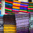 Serape mexican blanket colorful pattern — Stock Photo