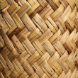 Handcraft mexican cane basketry vegetal texture — Stock Photo