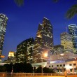 Stock Photo: Dallas downtown city urbbulidings view