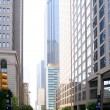 Dallas downtown city urban bulidings view — Stock Photo