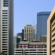 Royalty-Free Stock Photo: Dallas downtown city urban bulidings view