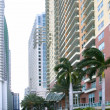 Royalty-Free Stock Photo: Miami downtown city with colorful buildings