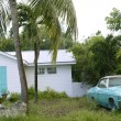 Key West vintage parked car in South Florida — Stock Photo #5509312