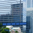 Downtown Miami urban city skyscrapers buildings — Stock Photo #5509356