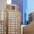 Downtown Houston Texas city buildings - Stock Photo