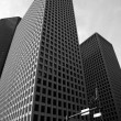 downtown houston texas city buildings — Stock Photo