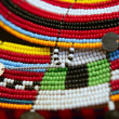 Royalty-Free Stock Photo: African ethnic colorful jewellery necklaces