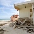 Cancun houses after hurricane storm — Stock Photo #5509477
